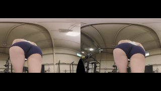 AJ APPLEGATE, RILEY REYES AND KARLA KUSH FUCK IN A VR ORGY! Bang curves