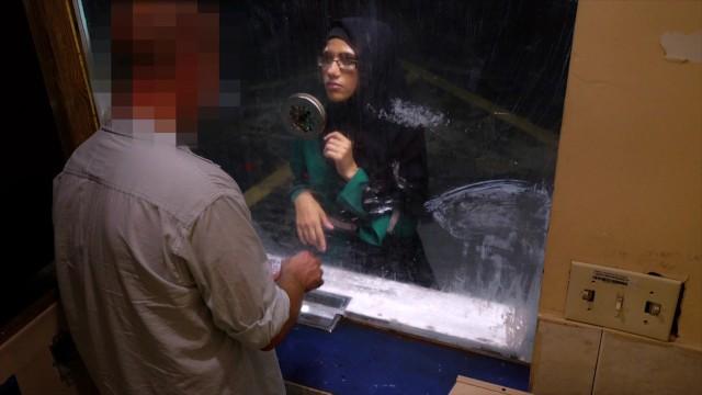 Threesome milf motel Arabs exposed - desperate arab woman fucks for money at shady motel