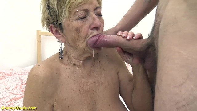 Harbin sex guide Hairy 90 years old granny banged by her toyboy