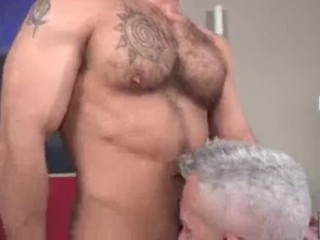 Showing this young jock take dick...