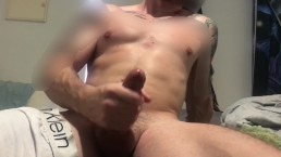 Quick play while talking dirty and cumming on myself