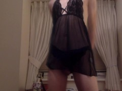 FemAmelia: Crossdressing Lingerie Compilation