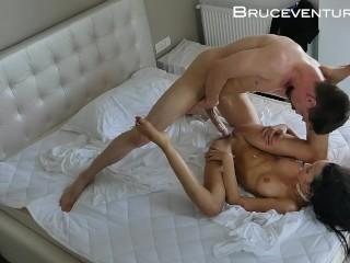 Deep missionary fucking boob brazilian pornstar...