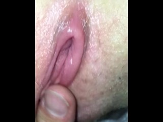 Licking the worlds smallest pussy...