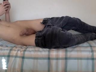 Jerks skinny jeans...