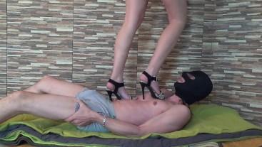 Sexy High Heels Trampling