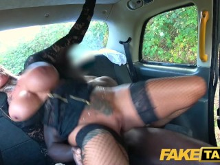 Nikita Mirzani - Fake Taxi Sexy busty tattooed Milf stripper wants big black cock