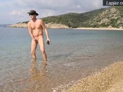 Kalamata Beach Creampie - Lapjaz.com