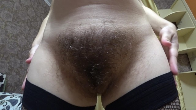 Lesbian pregnancies Milf in early pregnancy, very hairy pussy, big nipples