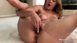 Holy Fuck! Panties Stuffing Squirting Spanking Best Solo Dildo- Molly Pills