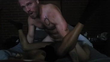 Ebony MILF dominates submissive hunk and milks him for all his cum