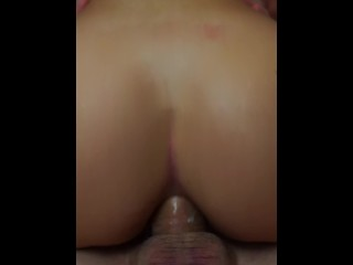 This is the right way to give him my ass - iPHONE QUICKIE ANAL