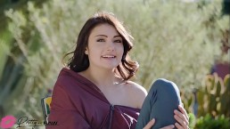 Pretty and Raw - Adria Rae first interatial Double Penetration