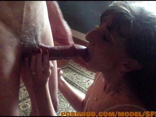 Sexy Milf Marie Enjoys Every Inch of Shadow's Cock