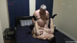 Street Bait Hustler Sucks Dick And Lets Older Man Fuck Him Bareback