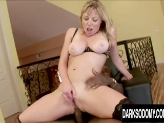 Blonde PAWG Adrianna Nicole Gets Her Ass Licked and Dicked by a BBC