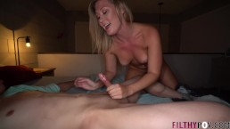 I Share My Hot Busty Blonde Wife with Young Stud & His Big Cock