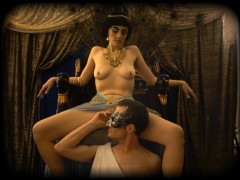 "FEMALE EDGING & ORGASMS IN ANCIENT TIMES: ""The Egyptian Queen"" TEST FOOTAGE"