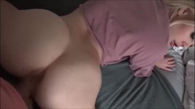 Curvy White Girl Creampie