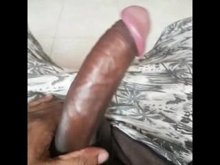 Uncut sri lankan boy playing with foreskin...