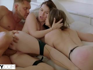TUSHY Tori Black Intense Anal Threesome
