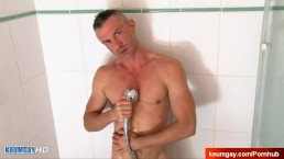 Str8 Maried neighbour serviced made in a gay porn in spite of him