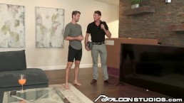 FalconStudios Hot Cable Man Daddy & His Bulge Is Pretty BIG!