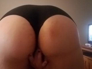 Grab ass and tease my juicy pussy...