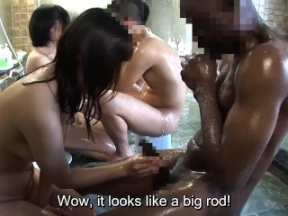 JAV black student mixed bathing interracial blowjob Subtitles