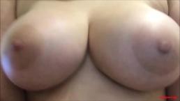 Lesbian ASMR POV Nipple Orgasm for Daddy