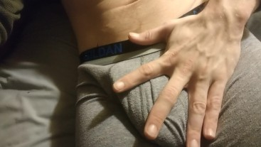 Softcore touching and rubbing