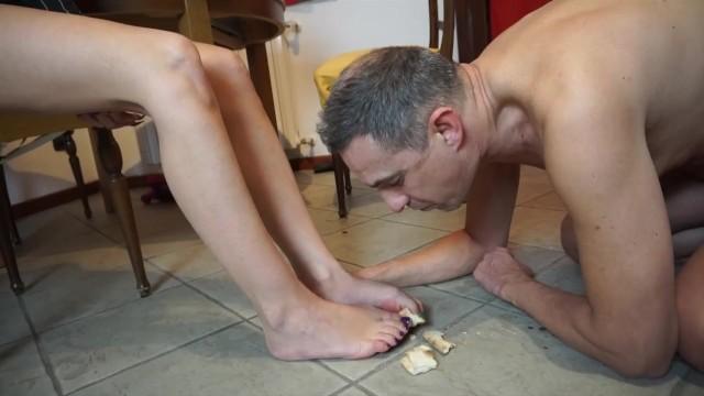 Big Tits;Brunette;MILF;Feet;Italian fetishdesire, kink, brunette, milf, feet, legs, foot, fetish, food-fetish, humiliation, licking-food, euro