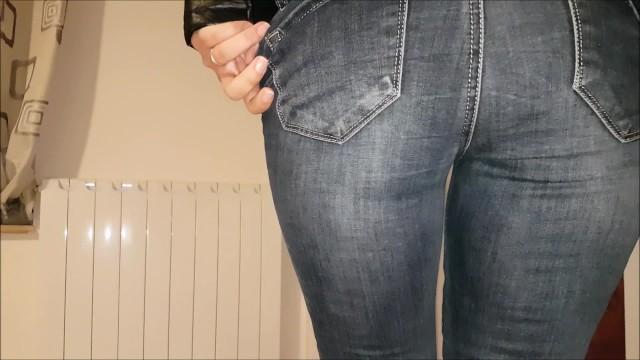 Jeans Handjob