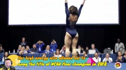 Babe Katelyn Ohashi Gymnast viral video w/ ItsMeApolloG