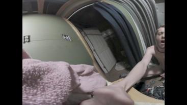 MAXIMUM 5.7k HD VR College Twink Cum In Bathroom [Flint-Wolf.com]