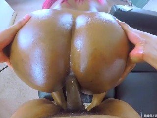 ANAL CREAMPIE Her DONUT Hole