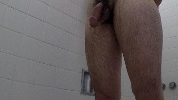 Soapy Shower 8 Inch Cock Jerk