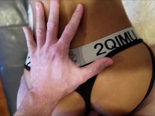 Stepdaddy screams in ecstasy as he breeds his...