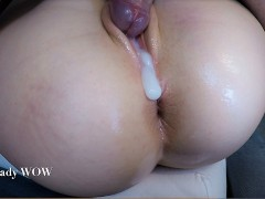 Friend of My Dad Creampied My Pussy Full of Cum