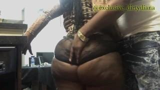 grabbing that beautiful big ass