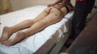 Fake massage porn