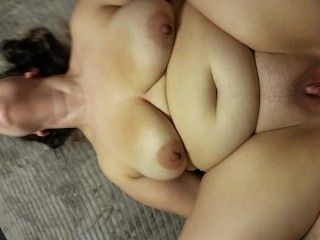 CHUBBY GIRL WITH PIGTAILS FUCKED POV – Flirt4free Horny Nicky
