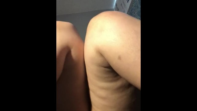 Chunky thumb - Chunky girls first time filming herself