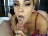 I said I was going to cum and she kept on sucking :)