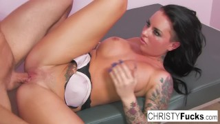 Old Style Gonzo With Sexy Christy Mack