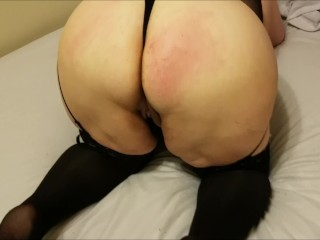 Milf trinity pleasures chained throated and painful dp...