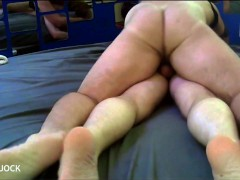 Dom DADDY Barebacks the Hell out of Skinny TWINK