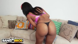 BANGBROS - Thicc and Juicy Black Maid Arianna Knight Sucks And Fucks For Ex
