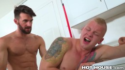 HotHouse Hot Australian Big Dick Hunk Pounds New Cute Teammate