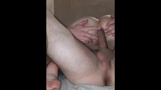 Painful gape anal sex with beautiful student girl